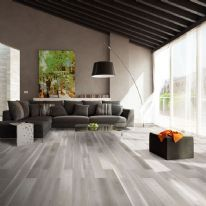 Basix Matt Engineered Floor 14mm - Silver Grey 0.99m2